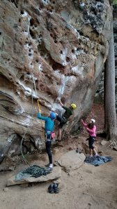 Climbing!